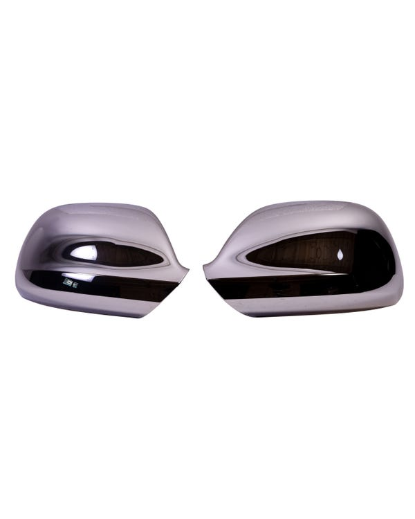 Chrome Wing Mirror Covers for Right Hand Drive Vehicles