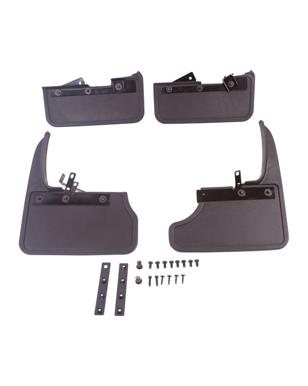 Mud Flap Kit Front & Rear for Tailgate Model