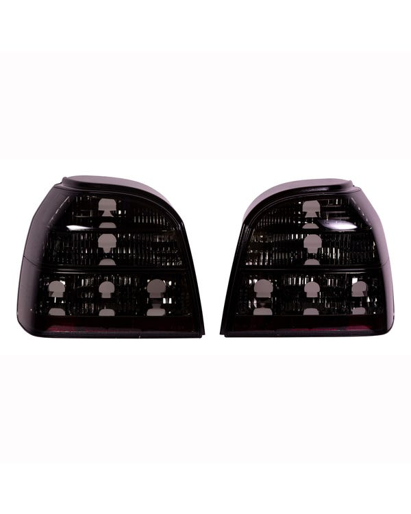 Rear Light Set, Crystal Smoked