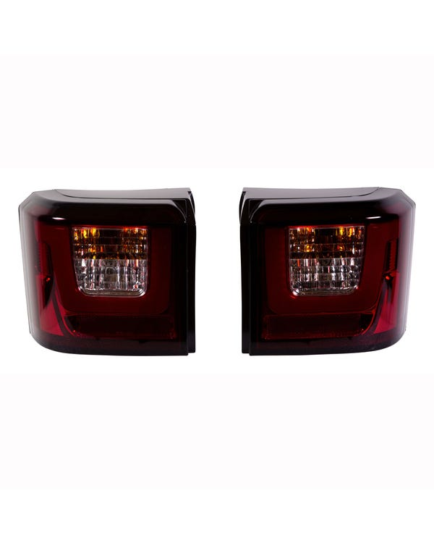 Rear Lights, LED Light Bar Style, Fully Smoked Lens