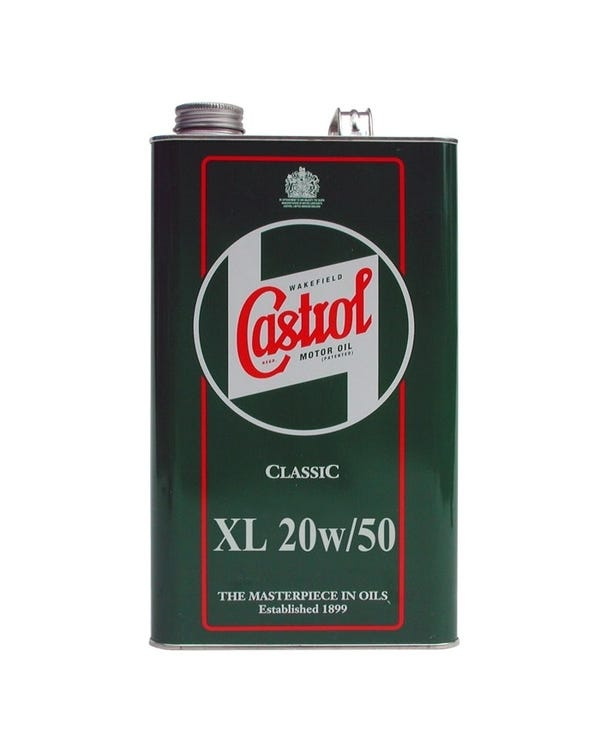 Castrol Classic 20W50 Engine Oil, 4.54 Litre