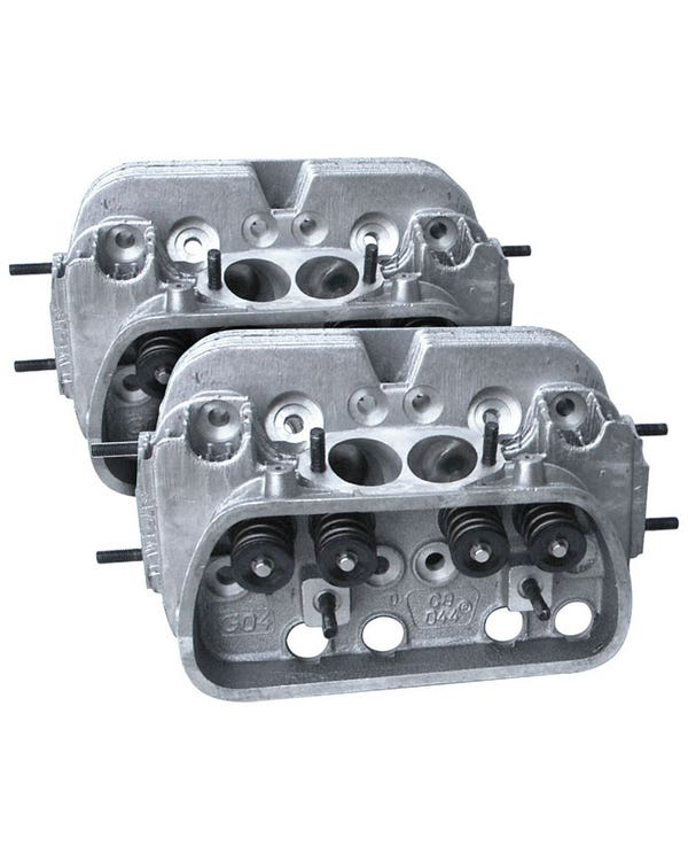 CB Performance 044 CNC Ultra Mag Plus Cylinder Heads 90.5/92mm Pair 42x37.5mm