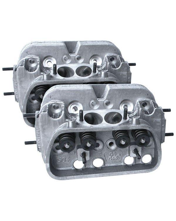 CB Performance 044 CNC Ultra Mag Plus Cylinder Heads 90.5/92mm Pair 44x37.5mm