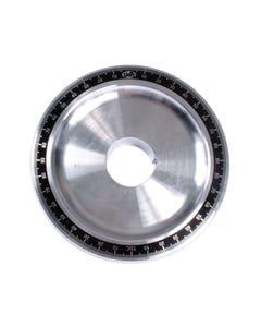 Crankshaft Power Pulley Plain Aluminium Degree Ring