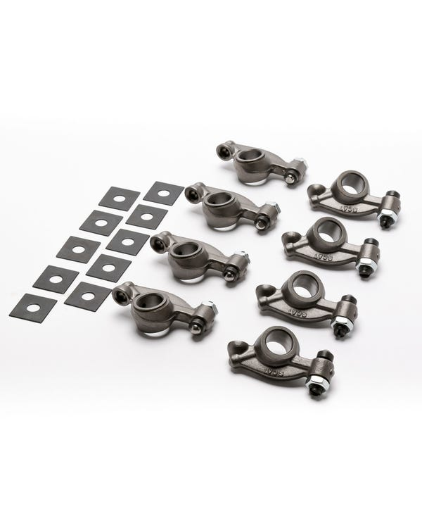 Chromoly Rocker Arms 1.25 Ratio with Swivel  Adjustment