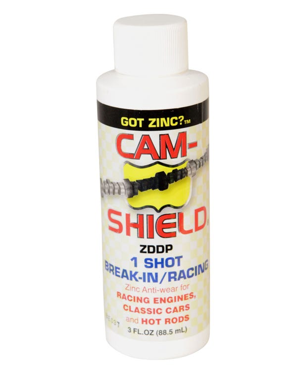Cam Shield, 1 Shot Break In Oil