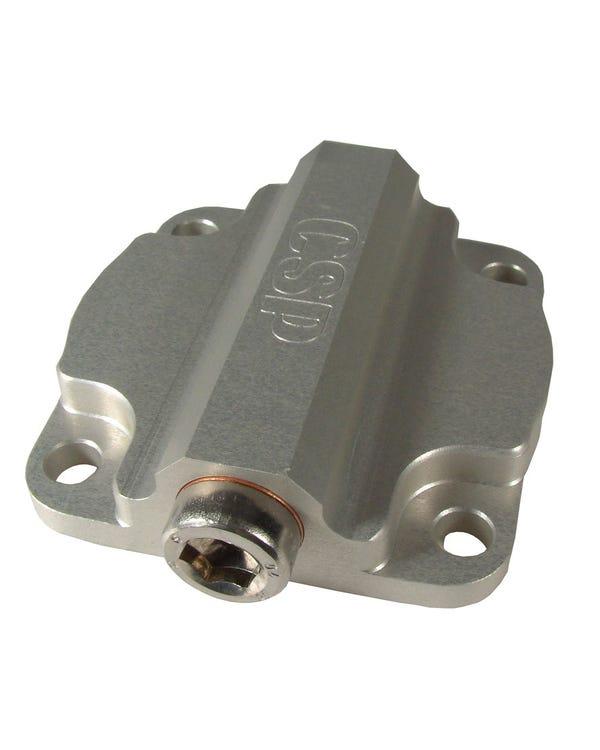Ölpumpenabdeckung, für 8-mm-Bolzen-Gehäuse mit Auslass- und Druckbegrenzungsventil