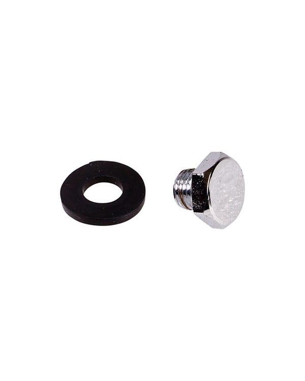 Sump Plug 1200-1600cc Chrome Magnetic