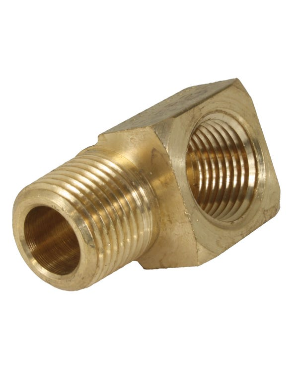 Oil Fitting 90 Degree 3/8'' Male to 3/8'' Female