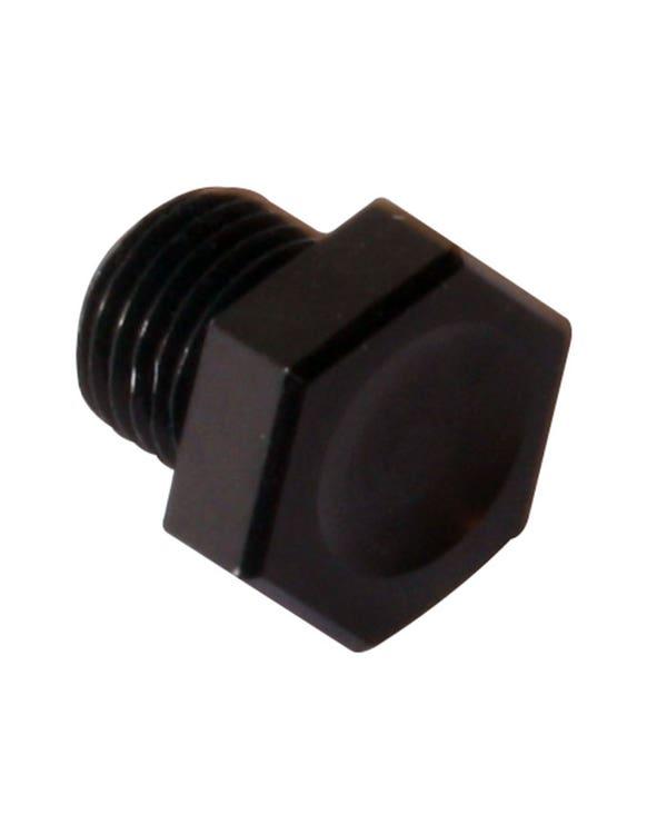 Sump Plug 1200-1600cc Black Anodised
