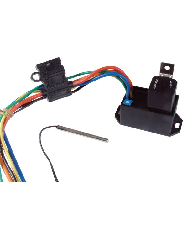 Thermostat, electronic for fan