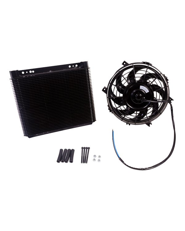 Oil Cooler 72 Row with Fan Universal