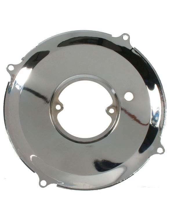 Dynamo/Alternator Backing Plate Chrome 1200-1600cc
