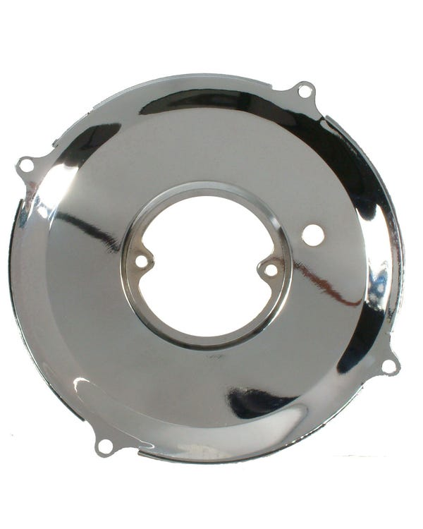 Dynamo/Alternator Backing Plate Chrome 1200-1600cc