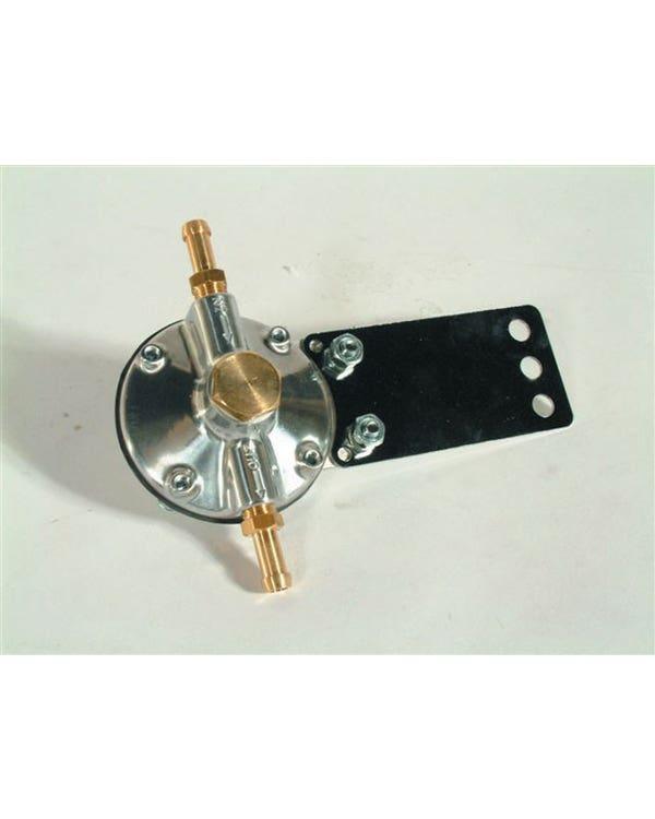 Adjustable Fuel Pressure Regulator with Bracket and 8mm Unions