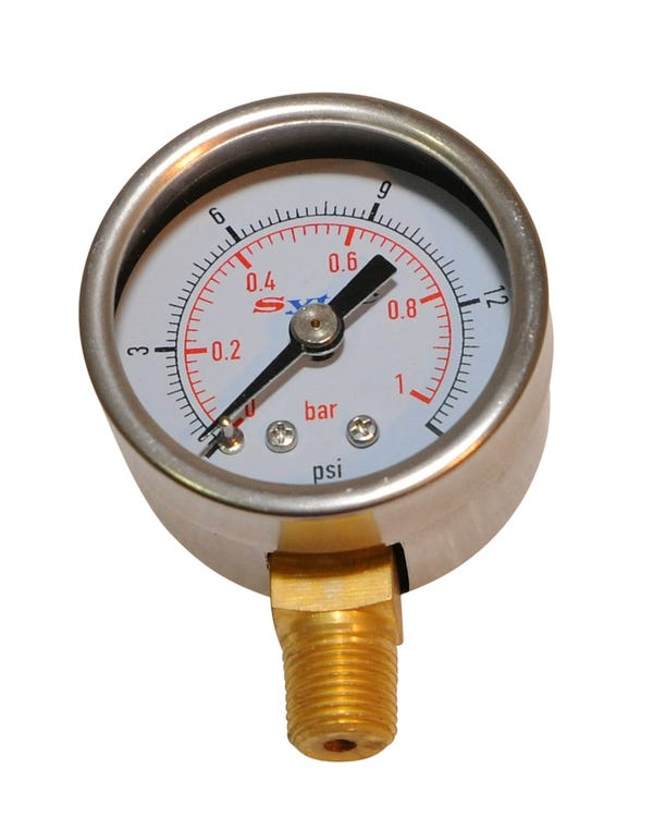 Fuel Pressure Gauge for Filter King Pressure Regulators