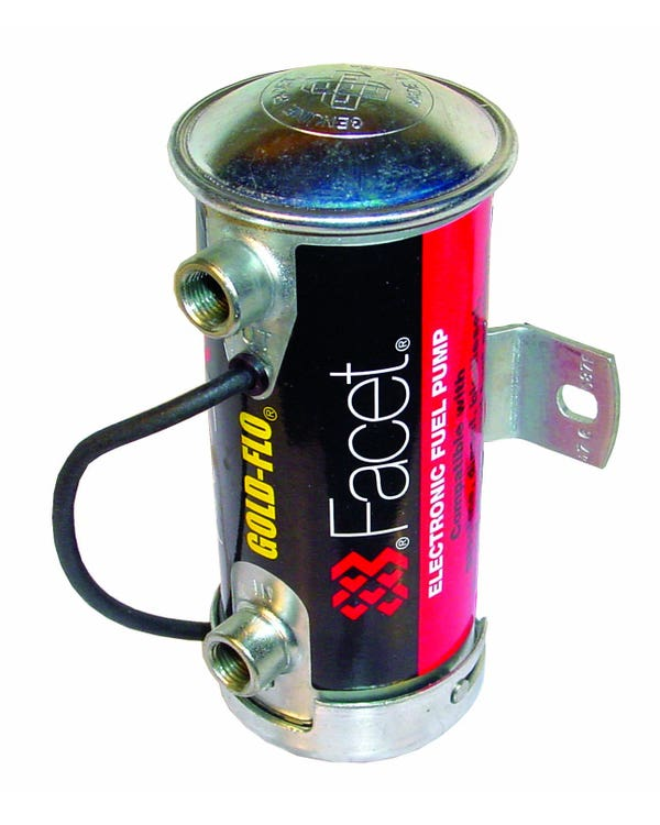 Electric Fuel Pump, Cylindrical Silver Top