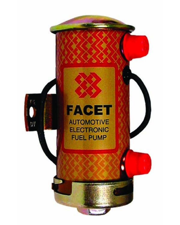 Electric Fuel Pump, Cylindrical Red Top