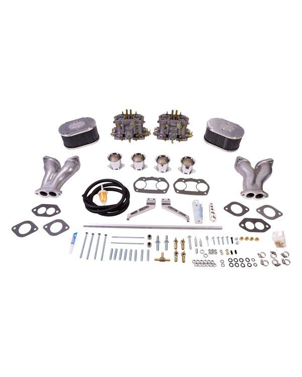 Kit de carburador Deluxe EMPI Dual-D 36mm para motores tipo 1 1600-1776cc