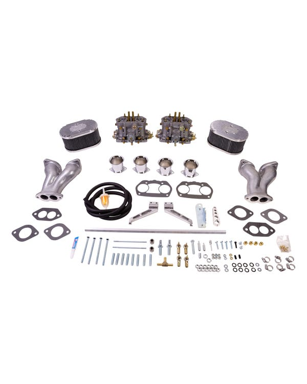 EMPI Twin D 36mm Deluxe Carburettor Kit, Twin Port