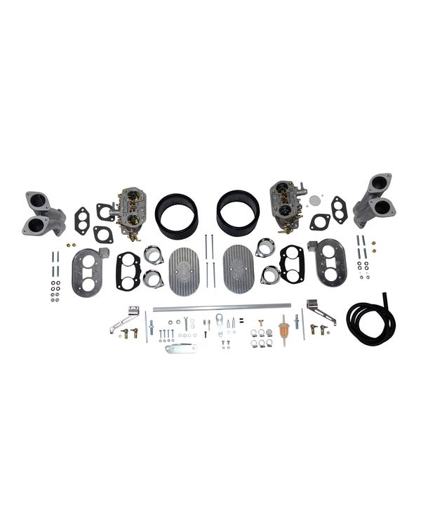 EMPI Twin D 40mm Deluxe Carburettor Kit, Twin Port
