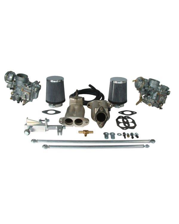 Kit de carburador Solex de 35mm con estranguladores eléctricos