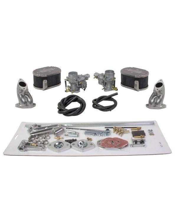 Weber 34 ICT Carburettor Kit Twin Port