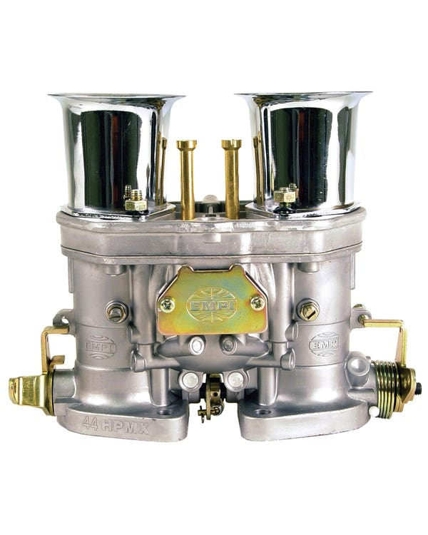 EMPI 44 HPMX Carburettor with Velocity Stacks
