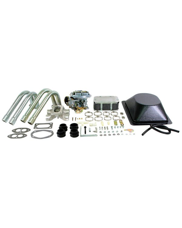 EMPI Single 32/36 EPC Progressive Carburettor Kit with Bubble, Type 3