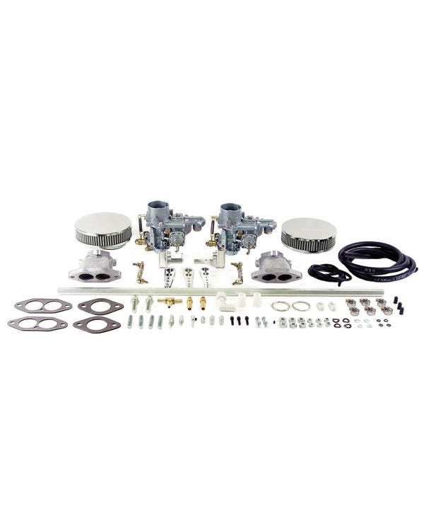 EMPI Twin 34 EPC Carburettor Kit, Single Port