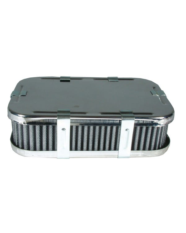 Air Filter Chrome for DRLA/IDF/HPMX 1 3/4'' Tall