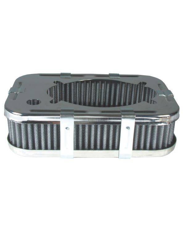 Air Filter Rectangular for Weber 32/36 - 1 3/4'' Tall
