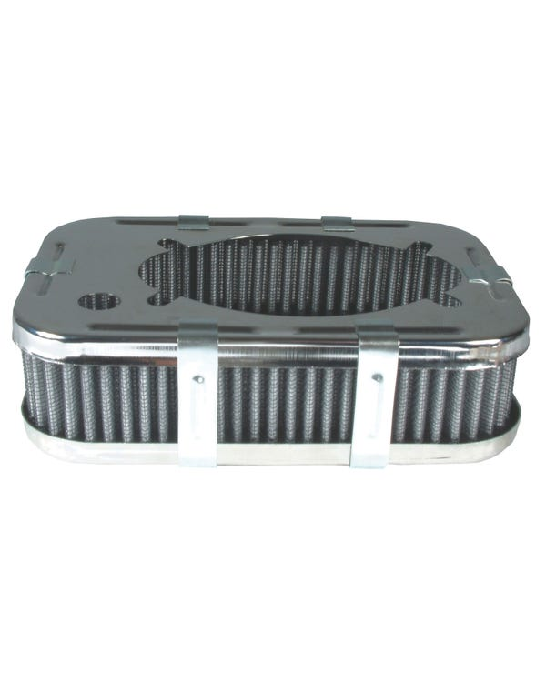 Air Filter Rectangular for Weber 32/36 - 1 3/4'' Tall