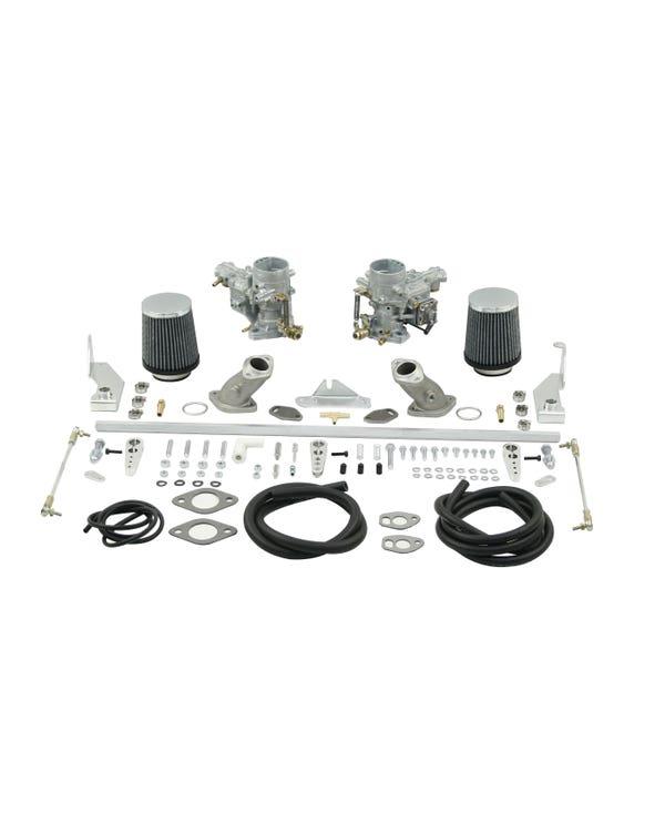 kit doble carburador Weber 34ICT. Simple admisión