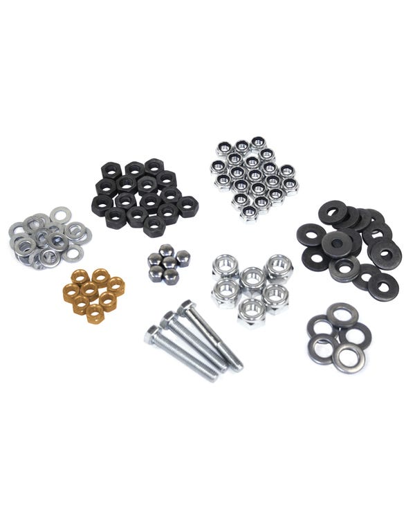 Crankcase Hardware Kit Deluxe 8mm