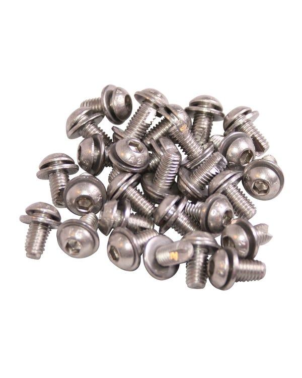 Tinware Screw 100 Piece Socket Head Set
