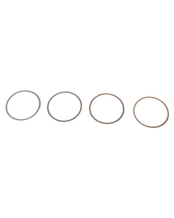 Kit de cuña, cilindro, 1700-2000cc, 0,010''/0,25mm, juego de 4