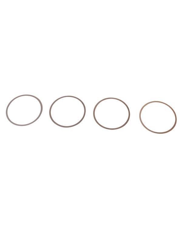 Kit de cuña, cilindro, 1700-2000cc, 0,040''/1,00mm, juego de 4