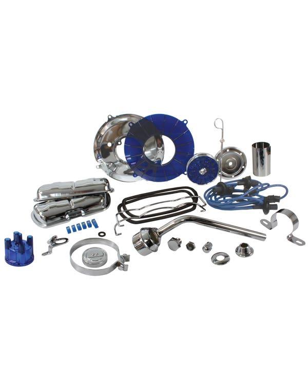 Engine Dress Up Kit Blue