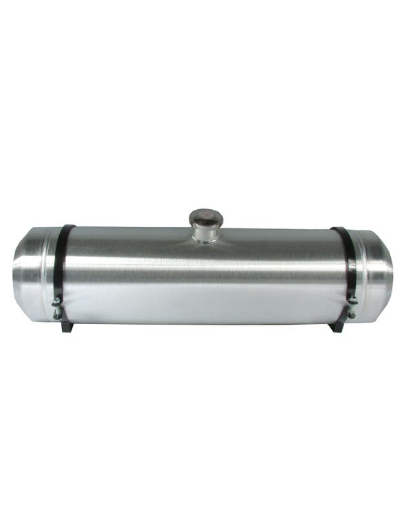 Cylindrical Polished Stainless Steel Fuel Tank 9.5 US Gallon Centre Fill