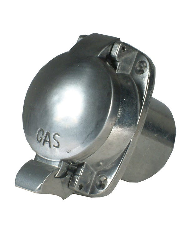 Universal Polished Aluminium Fuel Filler Cap for 2'' Opening