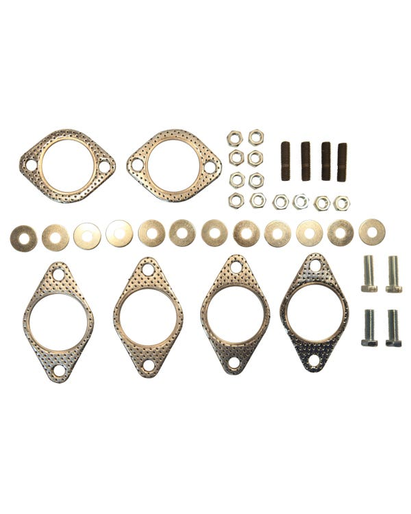Fitting Kit Vintage Speed Heater Style Exhaust Systems