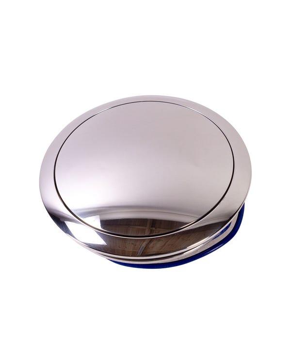 Hupendruckknopf, klein, poliert, für SSP Lenkräder