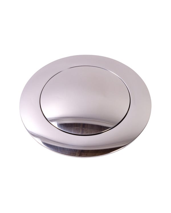 Hupendruckknopf, groß, poliert, für SSP Lenkräder