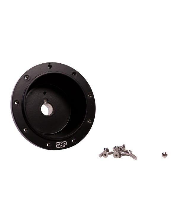 SSP-Lenkradnaben-Kit, schwarz, Aluminium, PCD 9x102