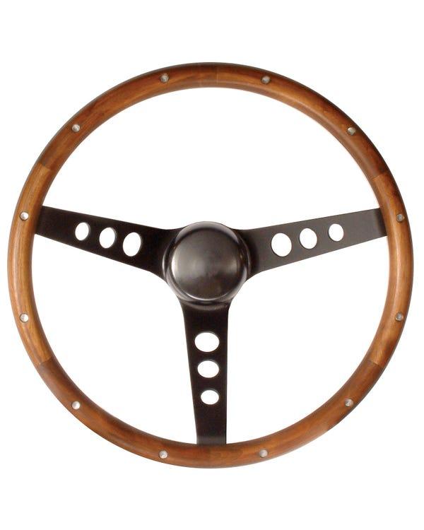 Grant Wood Rim Steering Wheel 13.5'' with 3 3/4'' Dish