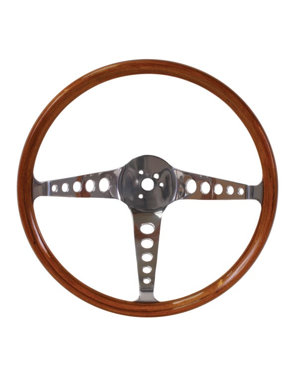 Flat4 Speedwell Wood Rim Steering Wheel