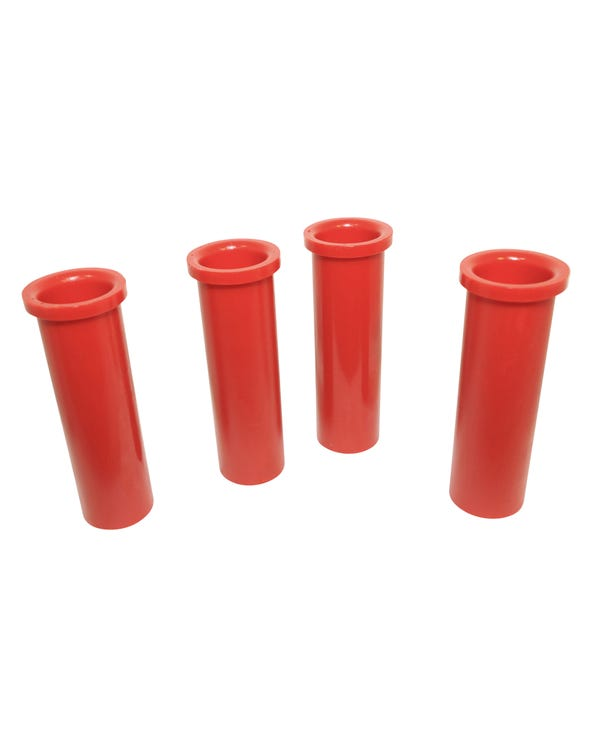 Beam Bush Kit, Polyurethane, T2 Split 55-63, Red