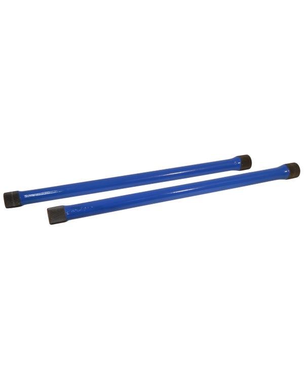 Rear Torsion Bars 21 3/4in -28mm Pair