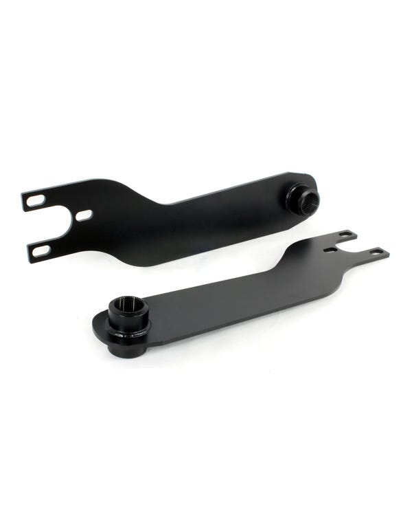 2 Inch Dropped Spring Plates for Swing Axle